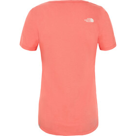 The North Face Simple Dome T-shirt Dames, spiced coral